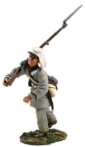 W Britain Confederate Infantry Officer Advancing No.2