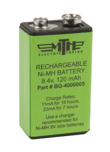 MTH Electric Trains 50-1008 Proto-Sound Rechargeable Battery