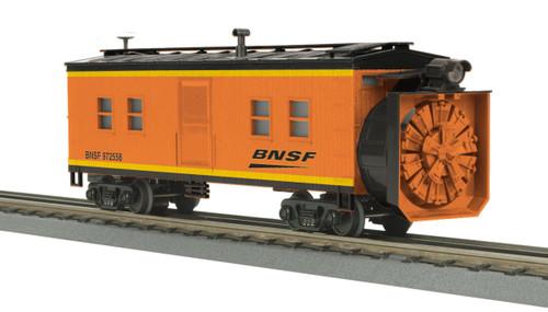 MTH RailKing Trains 30-79493 BNSF Rotary Snow Plow O Gauge