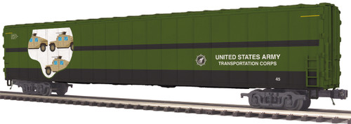 MTH Trains 20-95308 US Army AutoTrain Auto Carrier O Scale