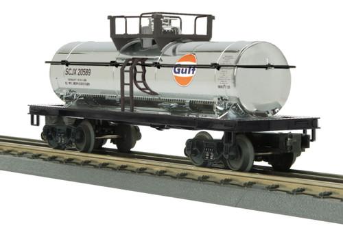 MTH RailKing Trains 30-73553 Gulf Chrome Plated Tank Car O Gauge