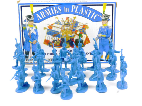 Armies in Plastic 5455 Napoleonic Wars 2nd Foreign Regiment Infantry 1812