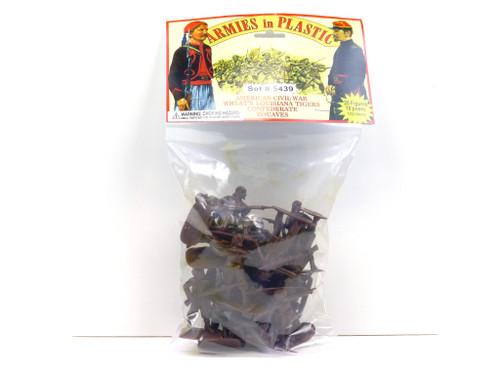 Armies In Plastic American Civil War Wheat's LA Tigers Confederate Zouaves 5439