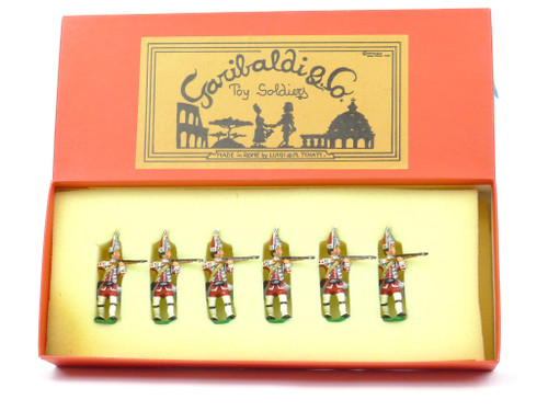 Garibaldi Toy Soldiers B7C 17th Leicestershire Grenadiers Battle of Bushy Run French Indian War