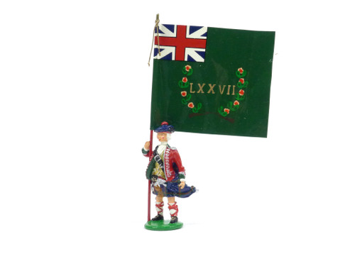 Garibaldi & Co Toy Soldiers B4 77th Standard Bearer Battalion Company