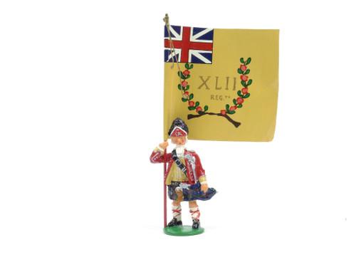 Garibaldi & Co Toy Soldiers B4 42nd Union Jack Standard Bearer Grenadier Company