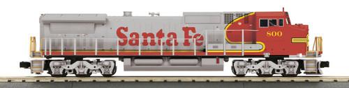 MTH Trains 30-20744-1 Santa Fe Warbonnet Dash 8 Diesel Engine ProtoSound 3
