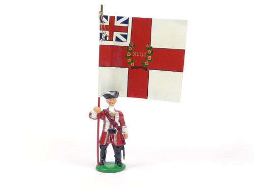Garibaldi Toy Soldiers B15 43rd Regiment Standard Bearer