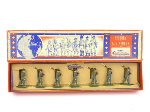 Authenticast Comet Toy Soldiers 623 Italian Bersagliere Marching 1940