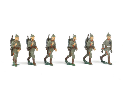Authenticast Comet Toy Soldiers 704 German Infantry Marching 1915