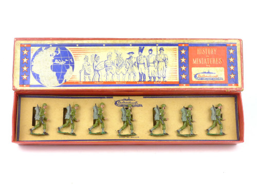 Authenticast Comet Toy Soldiers 306 United States Infantry Walking 1946