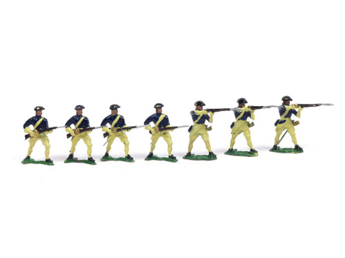 Authenticast Comet 502 British Empire Infantry Firing and At The Ready