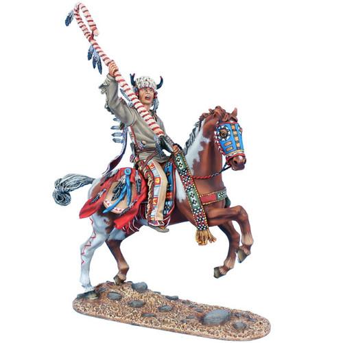 First Legion WW019 Wild West Mounted Cheyenne Indian Chief