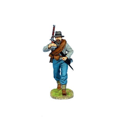First Legion MB010 American Civil War Mass Battle Confederate Infantry Advancing