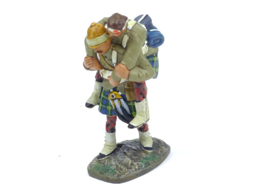 Conte Collectibles NWF-026 Northwest Frontier Gordons Carrying Wounded