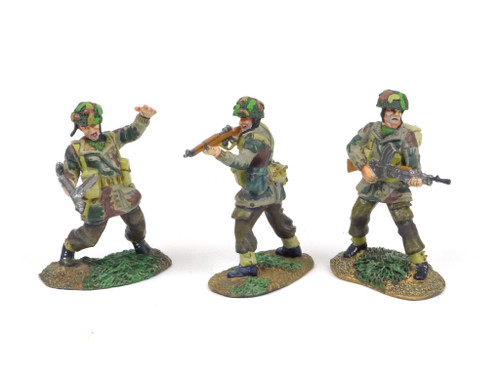 Conte Collectibles 47098 The Longest Day WWII British Paratroopers Advancing Set