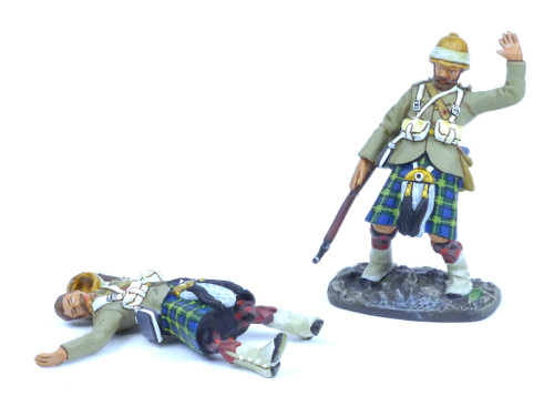 Conte Collectibles NWF-006 Northwest Frontier Gordons Casualties Set 1