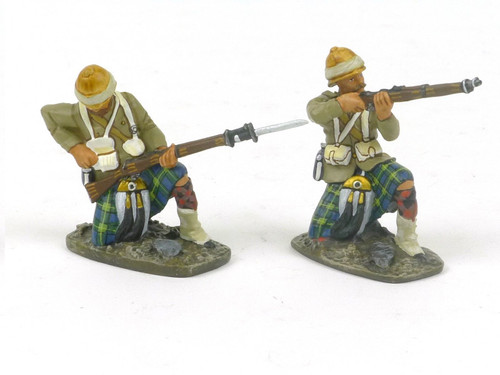 Conte Collectibles Toy Soldiers NWF-004 North West Frontier Gordons Firing Set 2
