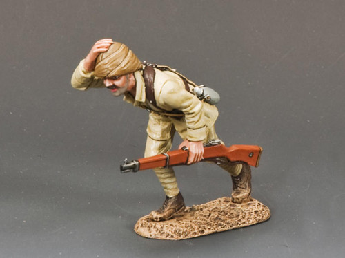 King & Country Soldiers AL035 Australian Light Horse Turkish Soldier Running