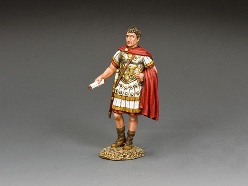 King & Country Soldiers ROM039 The Romans The Emperor Augustus