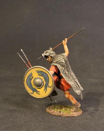 John Jenkins VMRR-04Y The Roman Army Of Mid Republic Veles With Yellow Shield