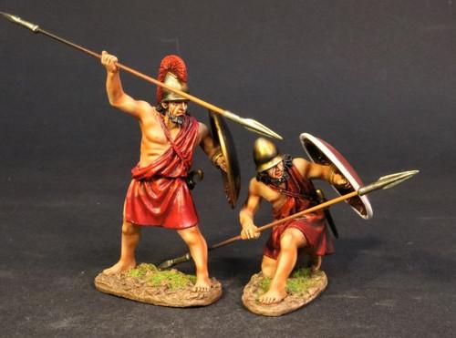 John Jenkins Designs SPT-03B Spartan Army Spartan Warriors With Lambda Shields