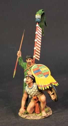 John Jenkins AZ-22 Conquest Of America Aztec Empire Aztec Priest With Captive
