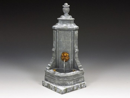 King & Country World Of Dickens Winter Fountain 1/30 Scale Collectible WOD018