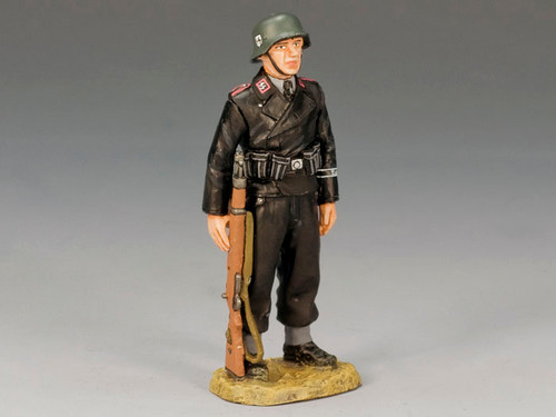 King & Country Soldiers WS156 Panzer Crewman on Parade