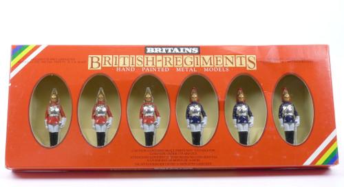 Britains 7227 British Regiments 3 Lifegaurds 3 Horseguards Hand Painted Metal