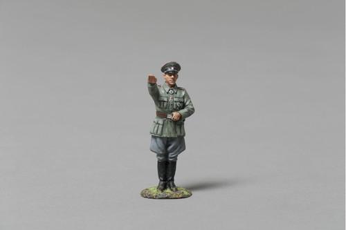 Thomas Gunn Miniatures SS079A World War 2 WWII SS Tank Commander Hans Siegel