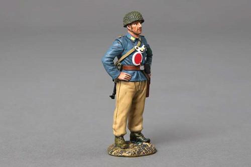 Thomas Gunn Miniatures FJ029C WWII Fallschirmjagers Military Policeman (Desert)