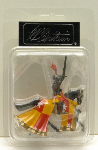 W Britain Knights 41091 Earl Of Oxford Mounted