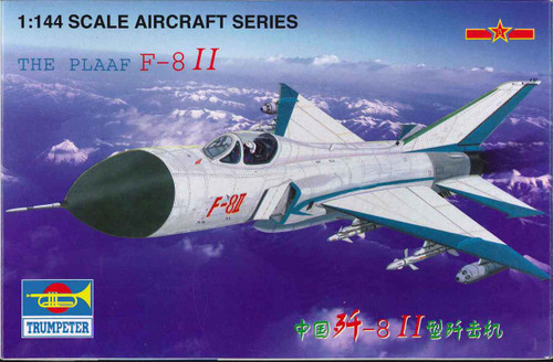 Trumpeter TR01328 Chinese F-8 II The PLAAF 1:144 Scale Aircraft Model Kit
