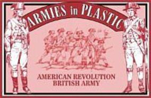 Armies In Plastic American Revolution Infantry British Army 54mm Soldiers 5466