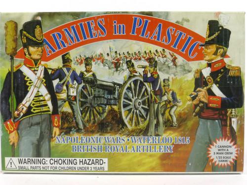 Armies In Plastic 5431 Napoleonic Wars British Royal Artillery Waterloo 1815