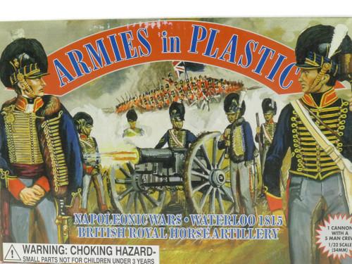 Armies In Plastic 5432 Napoleonic Wars British Royal Horse Artillery Waterloo