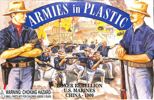 Armies In Plastic Toy Soldiers 5508 Boxer Rebellion US Marines China 1900