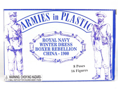 Armies In Plastic 5512 Royal Navy Winter Dress Boxer Rebellion China 1900