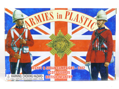 Armies In Plastic 5448 Egypt And Sudan Campaigns Scots Guards British Infantry