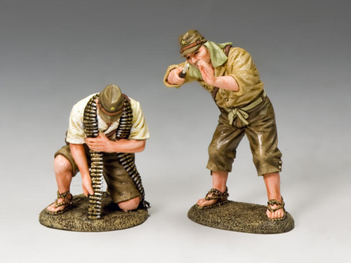King & Country JN021 Japanese Navy Ground Crew Set 2 Imperial Japanese Navy