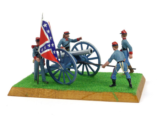 Alymer Military Miniatures 241/A American Civil War Confederate Artillery Group Diorama