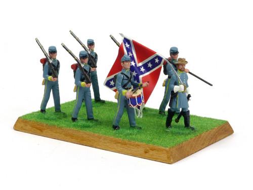 Alymer Military Miniatures 241/B American Civil War Confederate Infantry Group Diorama