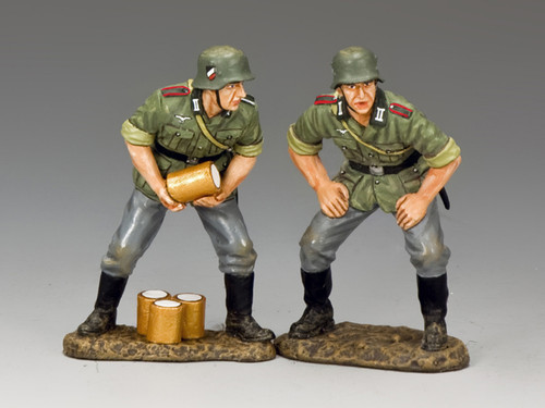 King & Country Soldiers Gun Crew #2