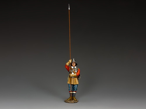 King & Country Soldiers PnM006 Pike And Musket Standing Pikeman New