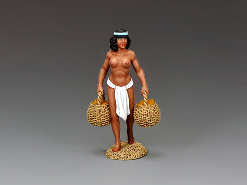 King & Country Soldiers AE076 Ancient Egypt Ethiopian Bread Carrier