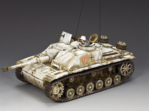 King & Country Soldiers BBG118 WWII Battle Of The Bulge The Winter STUG III