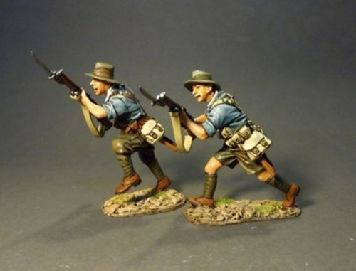 John Jenkins Designs Soldiers GLA-03B The Great War Anzas Charging Collectible