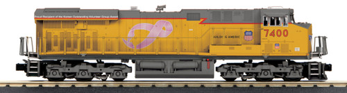 MTH RailKing 30-20571-1 Union Pacific ES44AC Imperial Diesel Engine Protosound 3