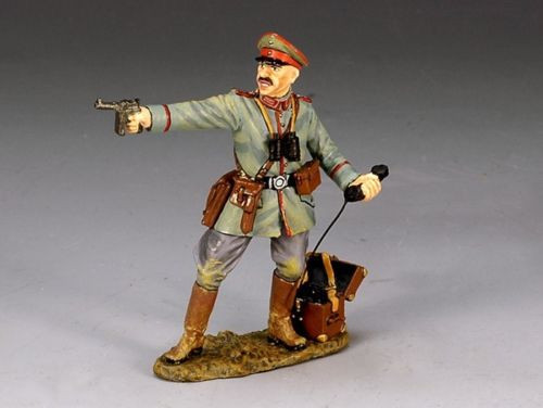 King & Country FW050 Officer with Pistol & Field